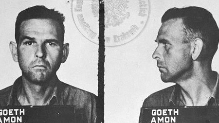 Amon Goeth, fue el brutal comandante del campo de concentración de Plaszow, en Polonia.