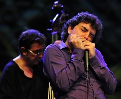 Antonio Serrano en una de sus actuaciones.