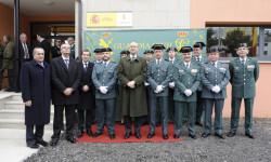 Arsenio Fernández de Mesa inaugura el nuevo acuartelamiento de la Guardia Civil en Cospeito (Lugo) (1)