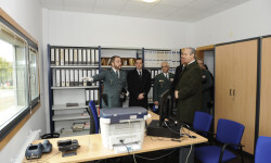 Arsenio Fernández de Mesa inaugura el nuevo acuartelamiento de la Guardia Civil en Cospeito (Lugo) (2)