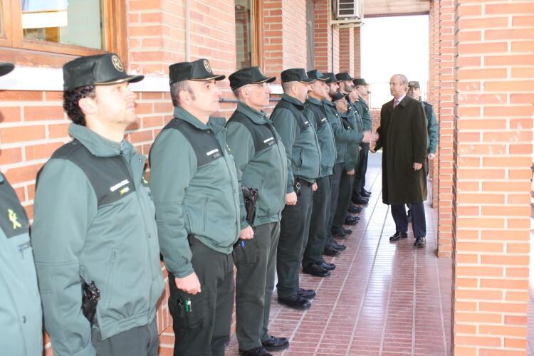 Arsenio Fernández ha almorzado en Tafalla donde varios guardias civiles fueron increpados (3)