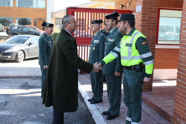 Arsenio Fernández ha almorzado en Tafalla donde varios guardias civiles fueron increpados (4)