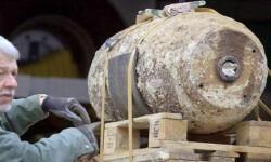 Bomba de la Segunda Guerra Mundial encontrada en el estadio de fútbol de Borussia Dortmund.