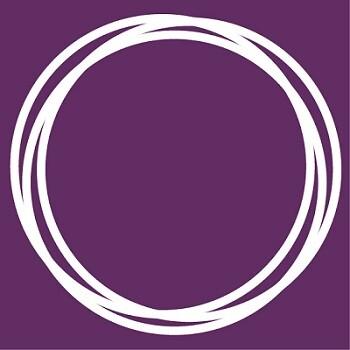 Círculo que define al partido Podemos.