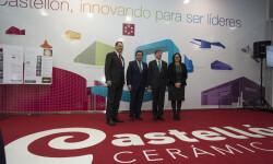 Cevisama supone un punto de inflexión para la industria cerámica de Castellón, según el presidente de la Diputación Provincial, Moliner.