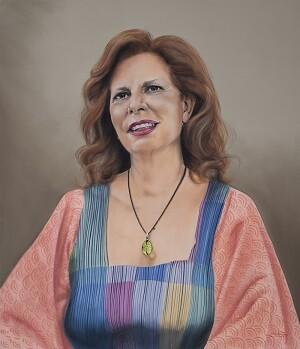 Carmen Alborch por Martín Forés