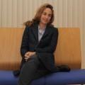 Carolina Punset en la sede de Ciudadanos (C's)