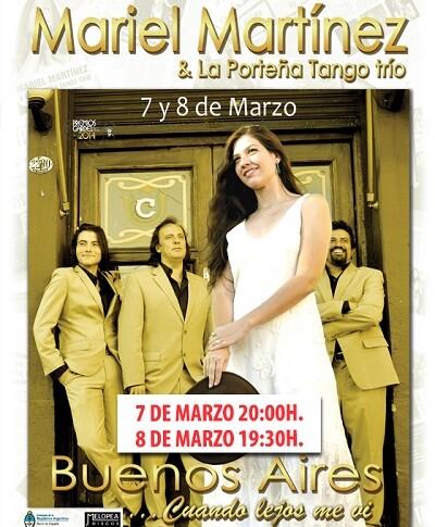 Cartel de Mariel Martínez y ' class=