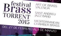 Cartel del Festival Brass Torrent.