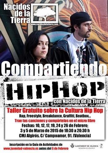 Cartel del Taller de Hip Hop.