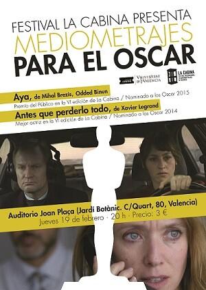 Cartel del evento cinematográfico.