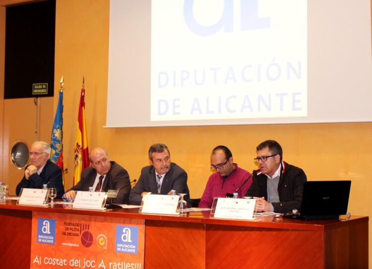 Daniel Sanjuan, Pasqual Diaz, Vicent Molines, Jesús Cortell y Juanjo Castelló presentaron la Lliga