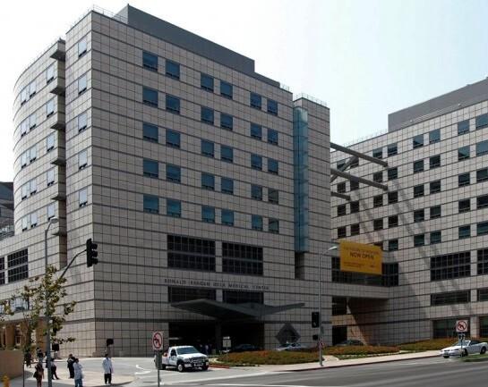 El Centro Médico Ronald Reagan de la UCLA. (Foto-Agencias)
