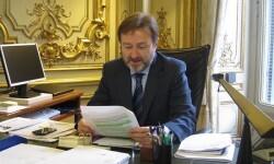 El director general de Cooperación Jurídica Internacional, Javier Herrera García-Canturri (Foto-Ministerio)