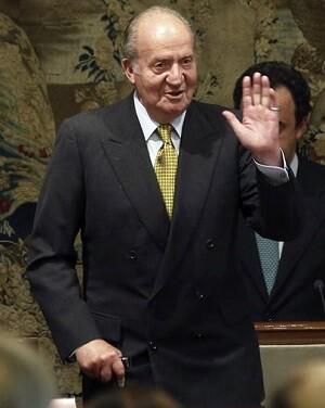 El ex monarca don Juan Carlos en una imagen de archivo.