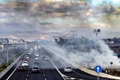 El humo llegaba hasta la zona del centro de Valencia.