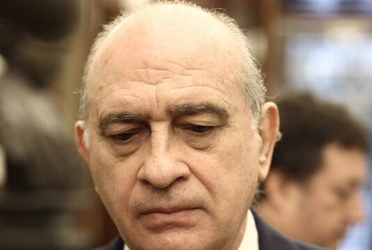 El ministro del Interior, Jorge Fernández Díaz defiende la actuación de la guardia Civil. (Foto-AP)