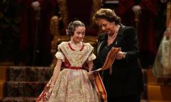Exaltación de la Fallera Mayor Infantil de Valencia, María Donderis (3)