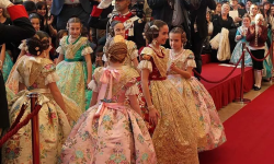Exaltación de la Fallera Mayor Infantil de Valencia, María Donderis (7)