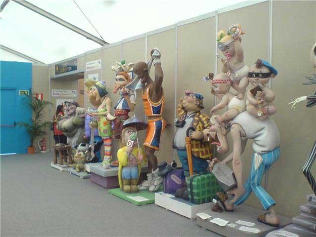 Exposición del ninot valencia-ninot