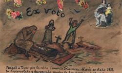 Exvoto de Conchita Ramírez. A. P. R. S.