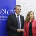 Fernando Móner y Carolina Punset