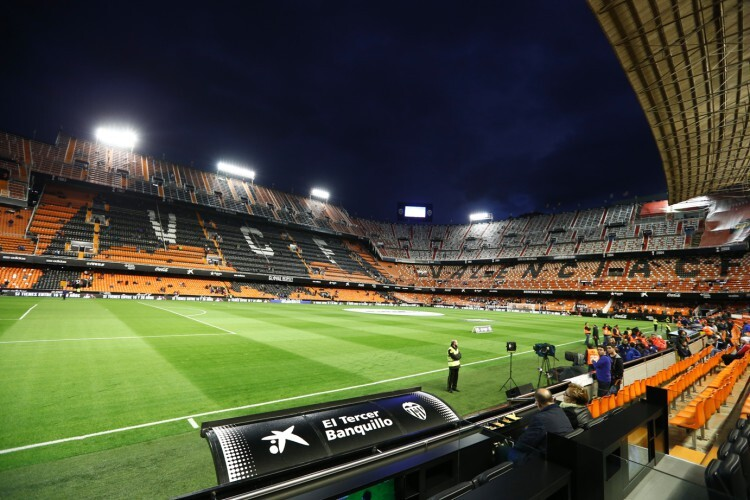 Foto 1 Tercer Banquillo CaixaBank - Valencia CF