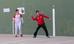 Foto. Jordi, de Alcantera-Carcer, campeón cadete.