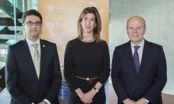 Francisco Mora, Mónica Bragado y Máximo Buch