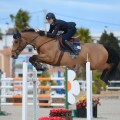 during Gold 3 competition at CSI Mediterranean Equestrian Tour II at Oliva Nova Equestrian Center, Oliva - Spain