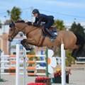 during Gold 3 competition at CSI Mediterranean Equestrian Tour II at Oliva Nova Equestrian Center, Oliva - Spain