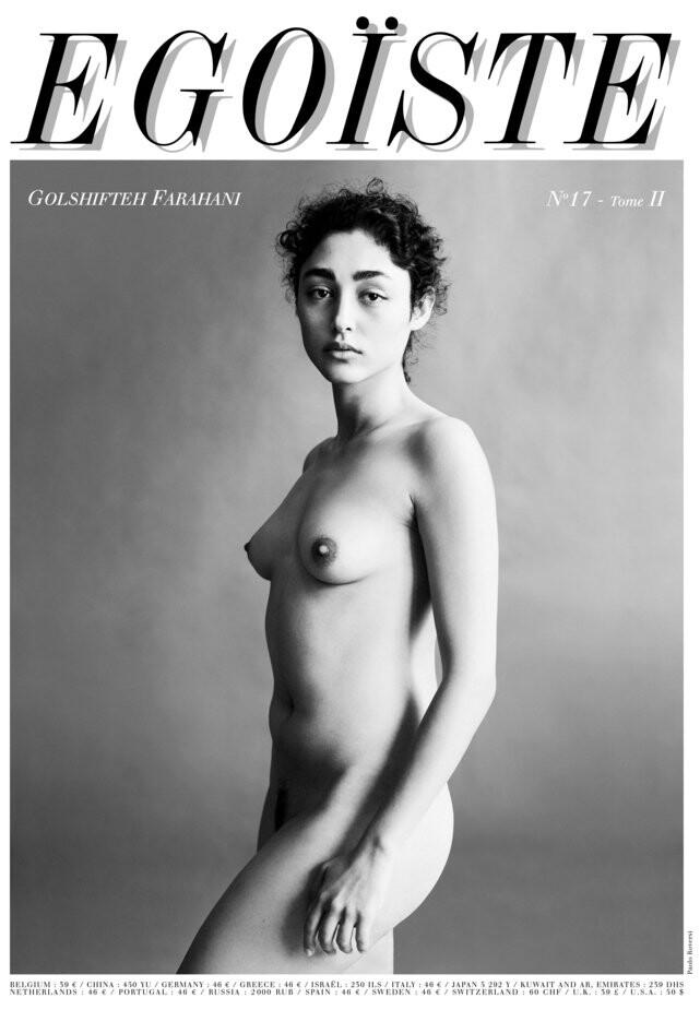 Golshifteh Farahani desnuda actriz iraní desafía al régimen de su país con un desnudo total