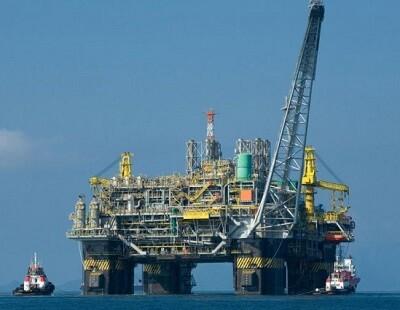 Imagen de una planta de petroleo en mar abierto. (Foto-AP)