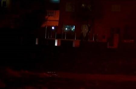 Imagen nocturna donde fue hallado el niño. (Foto-Agencias)