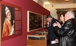 Inauguración de la exposición 'Los Papas Borja en el Archivo del Reino'.