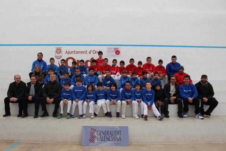Jugadores, técnicos, entrenadores provincial JECV CASTELLÓ GALOTXA 2015
