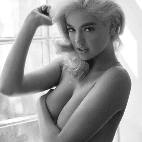 Kate-Upton-desnuda-en-topless-al-mejor-estilo-de-Marilyn-Monroe