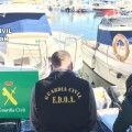 La Guardia Civil interviene en una operación de cocaina en Alicante.