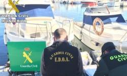 La Guardia Civil interviene en una operación de cocaina en Alicante.
