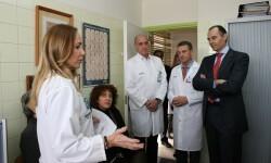 La Unidad de Patología de la Voz del Peset recibe cada año 300 nuevos pacientes.