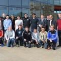 La delegación noruega en Valencia. (Foto-AVAN)