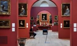 La galería pictórica Dulwich juega con sus visitantes. (Foto-AFP).