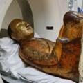La imagen del Buda fue analizada con un TAC para ver su interior.