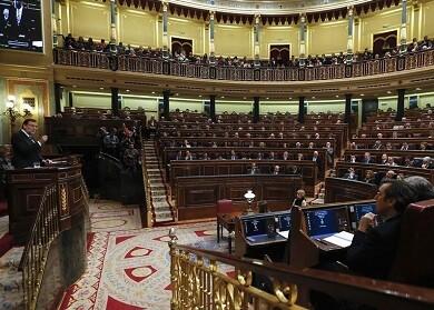 La opisición se puso de acuerdo en no aprobar el discurso del presidente Mariano Rajoy. (Foto-Agencias)