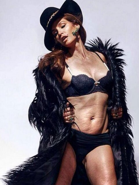 La revancha de Cindy Crawford con una foto muy sensual (3)