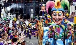 Las fallas y el carnaval de Nueva Orleans dialogan en La Beneficència