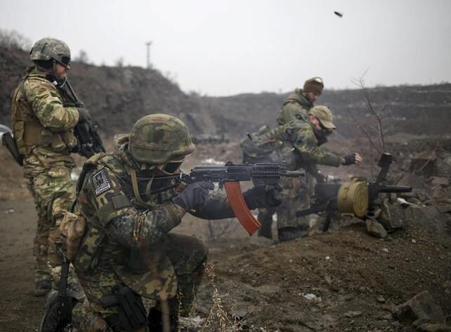 Las milicias nos terminan de respetar el alto el fuego.