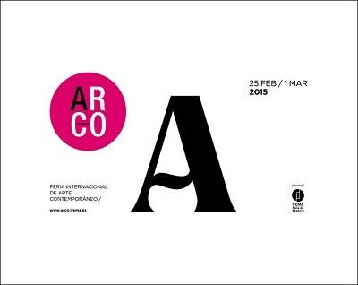 Logo de la Feria de ARCO 2015.