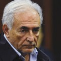 IMF chief Dominique Strauss-Kahn listens during his arraignment in Manhattan Criminal Court in New York
