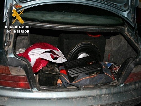 Los hechos ocurrieron en Jaén y allí actúo la Guardia Civil.